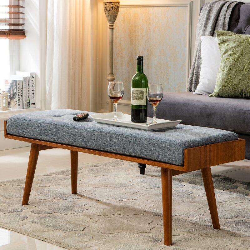 Aysel Upholstered Bench Reviews Allmodern