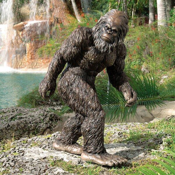 Design Toscano Bigfoot The Garden Yeti Statue U0026 Reviews | Wayfair