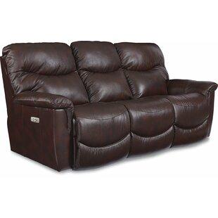 James LA Z TIME® POWER RECLINE Sofa With Power Headrest