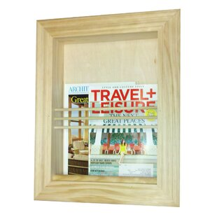 Charming Traditional Recessed Magazine Rack