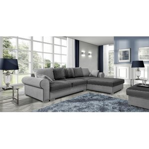 Bohrer Reversible Sleeper Sectional  sc 1 st  Wayfair : leather sleeper sectional - Sectionals, Sofas & Couches