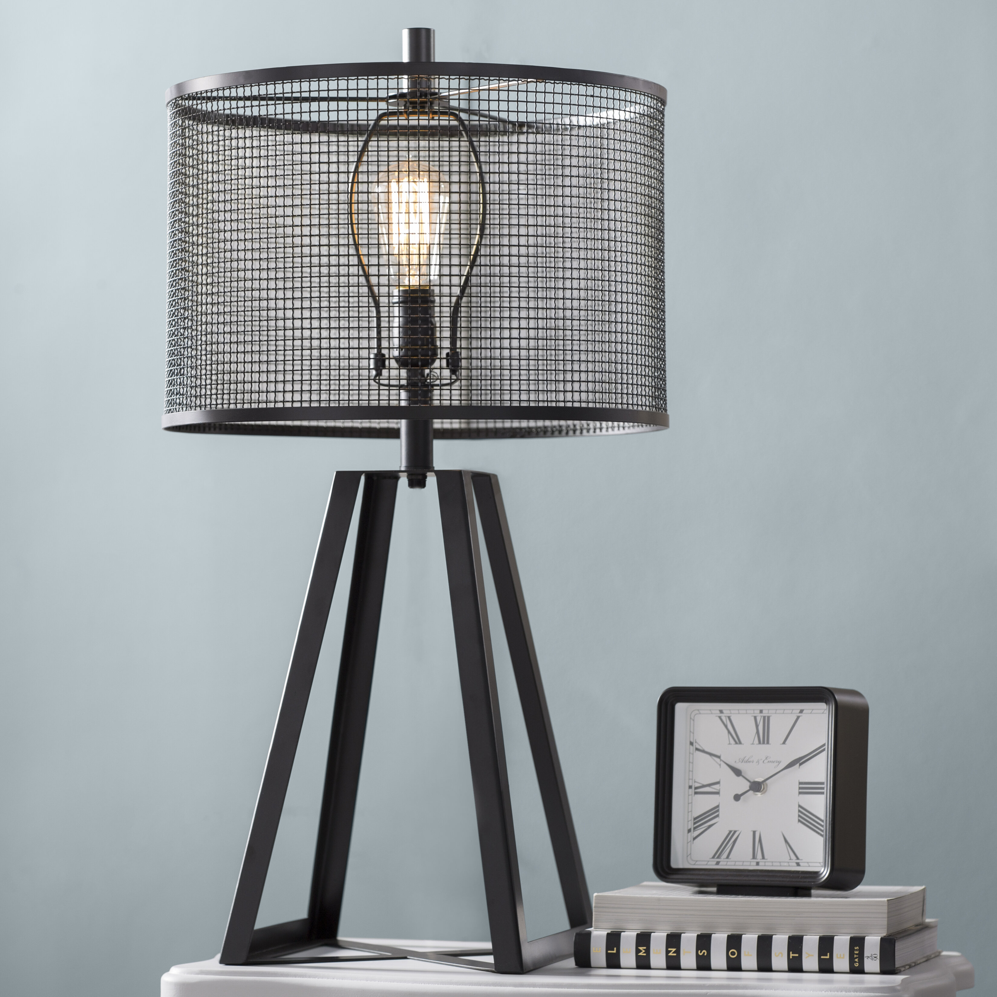 Laurel Foundry Modern Farmhouse Barstow 29 Tripod Table Lamp Reviews Wayfair