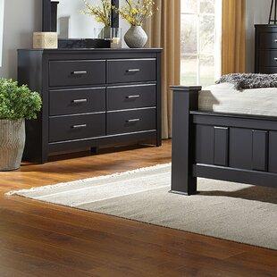 Nau 6 Drawer Double Dresser