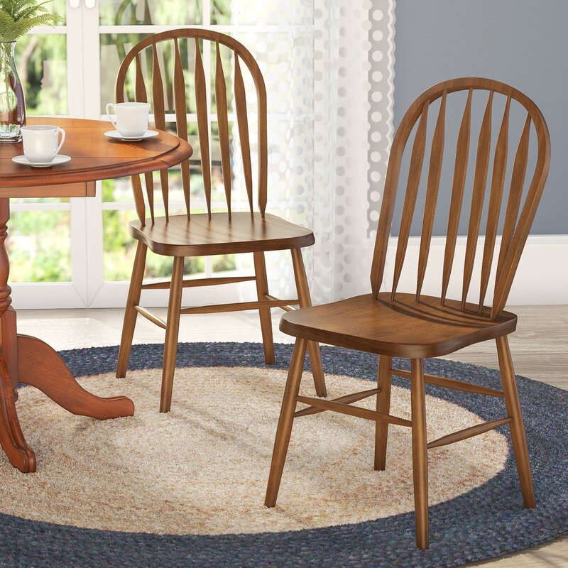 Superbe Acadian Arrow Back Windsor Side Chair