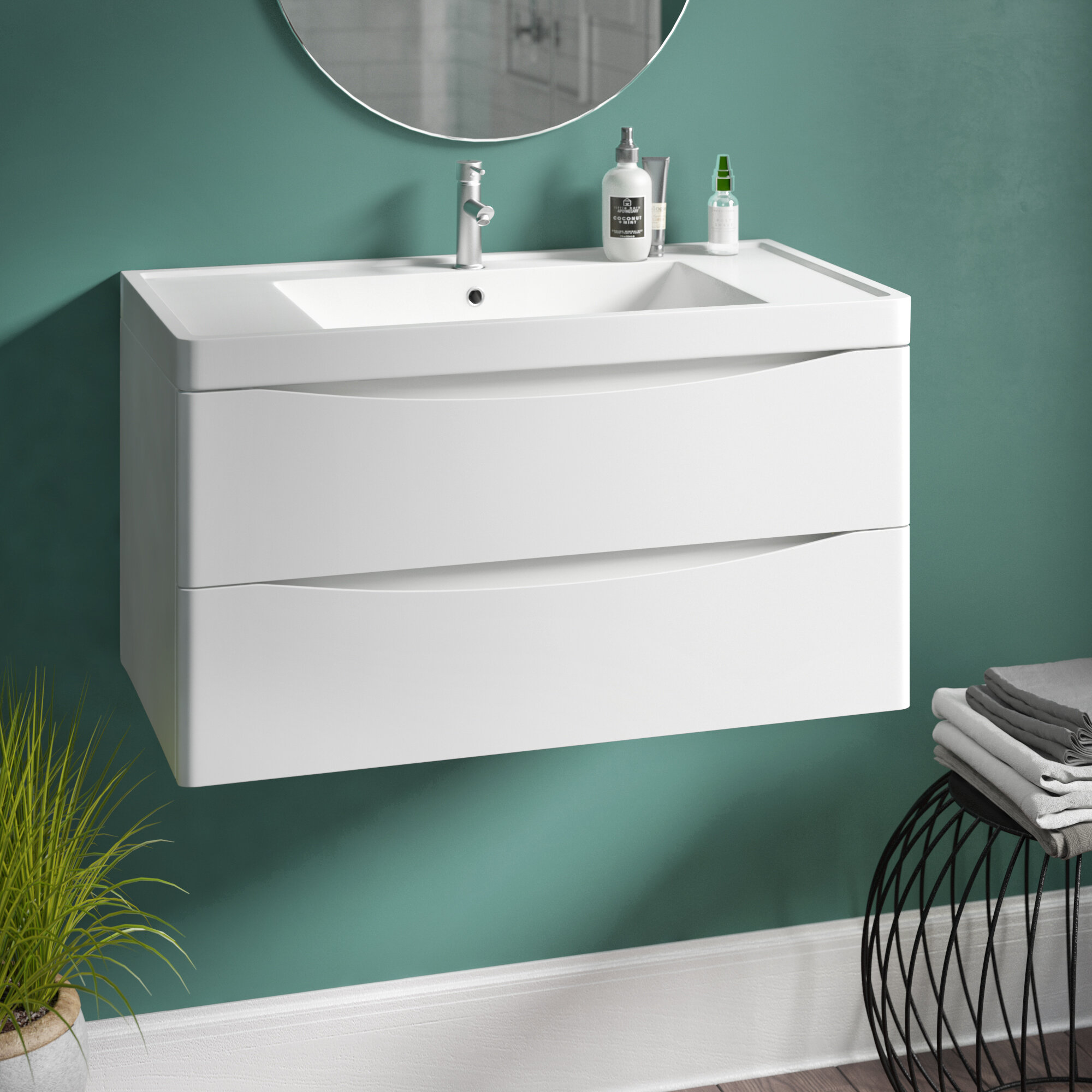 Delicieux Stanhope 900mm Wall Mount Vanity Unit