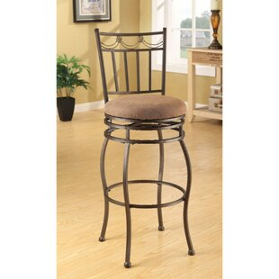 Bascomb Swivel Bar Stool (Set of 2)