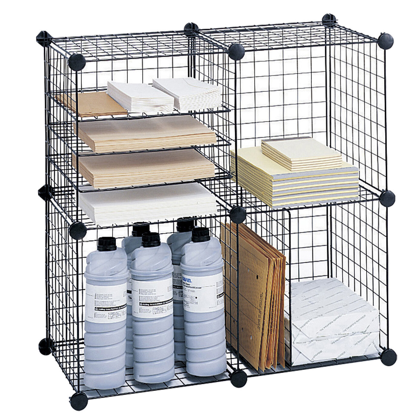 Safco Products Wire Cube Unit Bookcase & Reviews | Wayfair