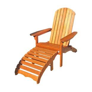 adirondack chair with ottoman adirondack chairs you ll love wayfair