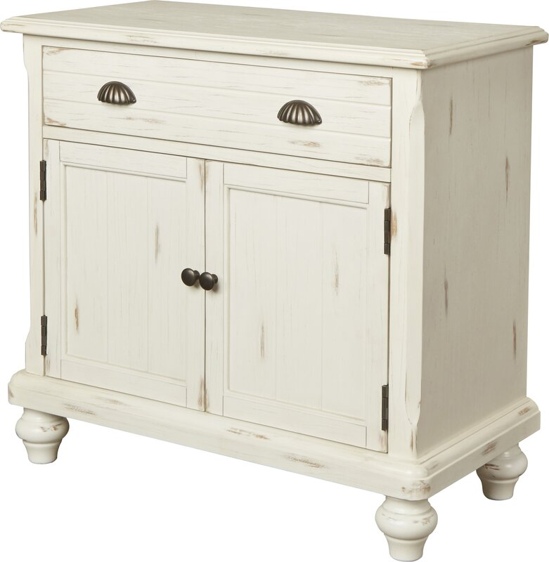 August Grove 1 Drawer 2 Door Accent Cabinet & Reviews | Wayfair