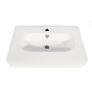 Cream Bathroom Sink | Wayfair