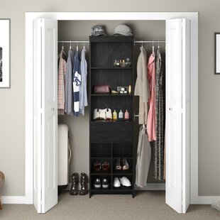 Beautiful Black Closet Systems