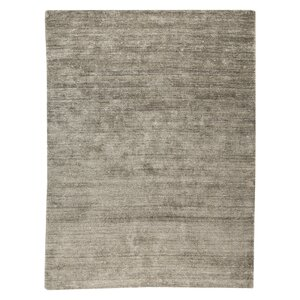 Platinum Hand-Woven Silver Area Rug