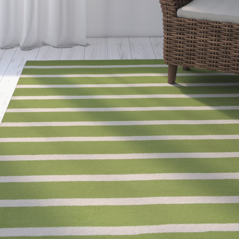Lime Green Outdoor Area Rug: Lyndon Hand-Tufted Lime Indoor/Outdoor Area Rug & Reviews