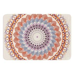 Vintage Mandala by Famenxt Bath Mat