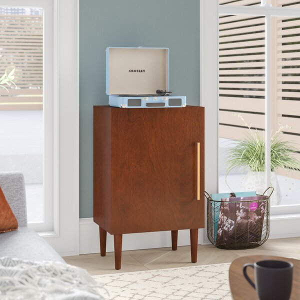 record player furniture custom langley street gardner record player stand reviews wayfair