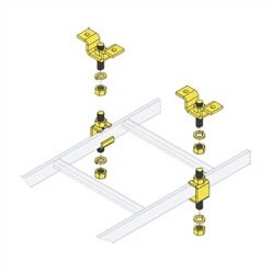 CL Series Slotted Ladder Support Hardware with Ceiling Hang Kit