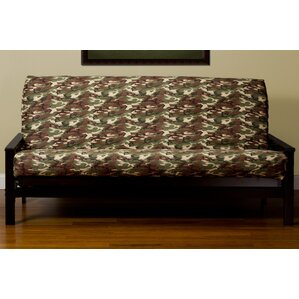 Washable Zipper Box Cushion Futon Slipcover ..