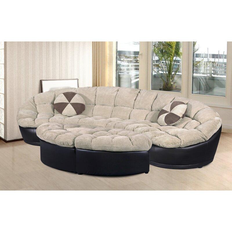 Chantilly 4 Piece Living Room Set