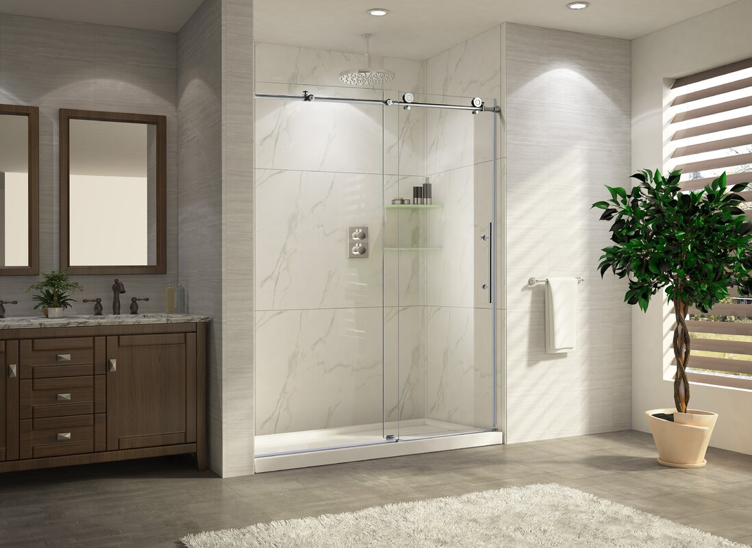 Wet Republic Trident Lux 60 X 76 Single Sliding Shower