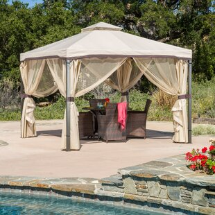 Salerno 10 Ft. W X 10 Ft. D Steel Patio Gazebo
