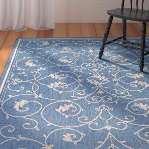 Miley Blue Indoor/Outdoor Area Rug