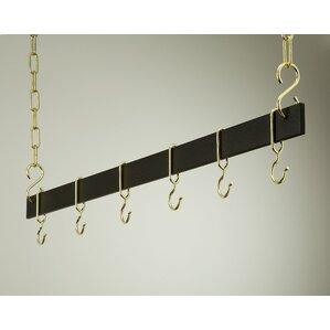 Gourmet Hanging Bar Pot Rack