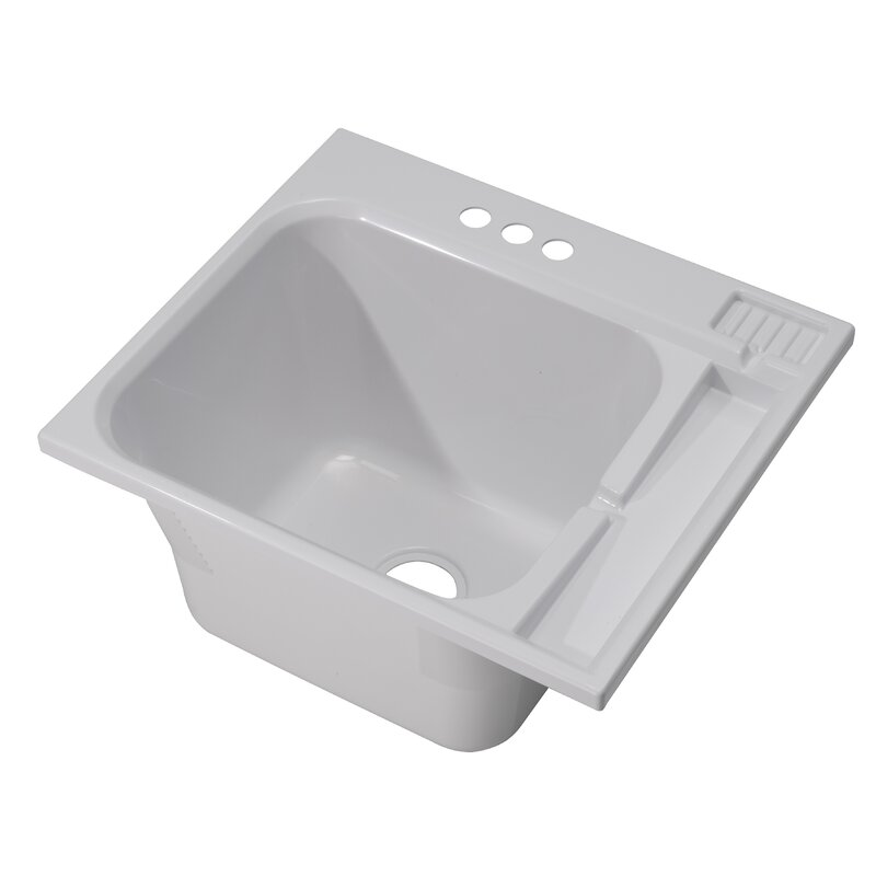 25 X 22 Drop In Laundry Sink