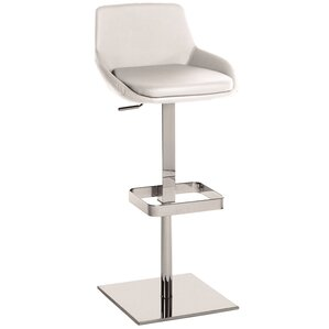 Laura Adjustable Height Swivel Bar Stool ..