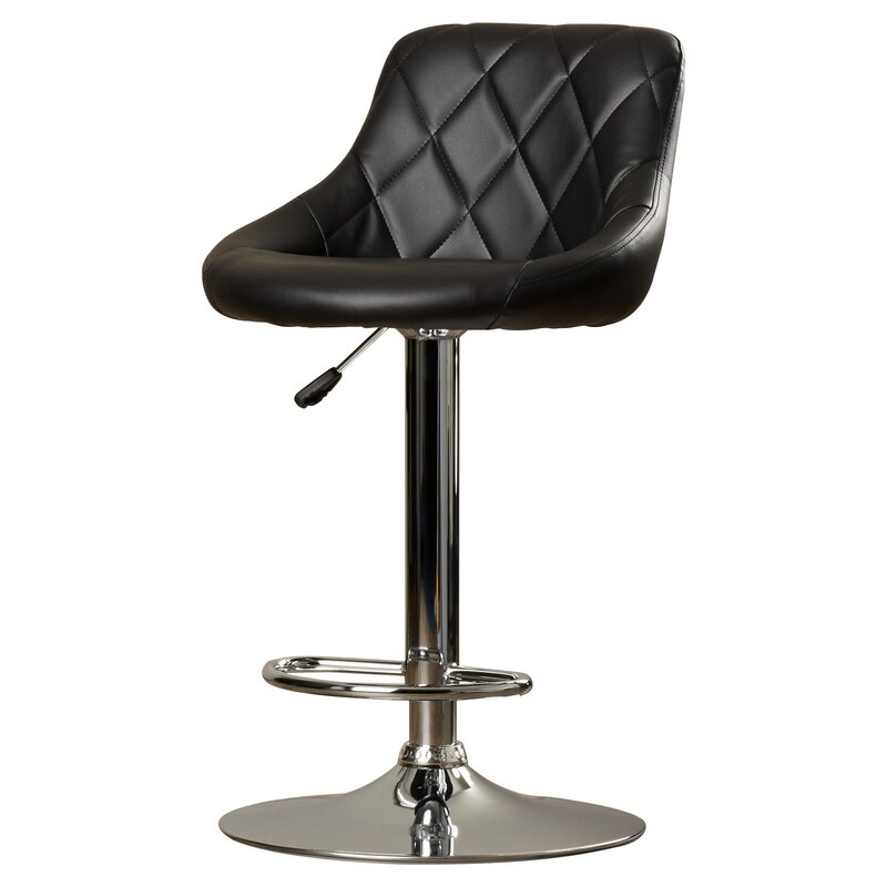 Clay Adjustable Height Swivel Bar Stool Amp Reviews Allmodern