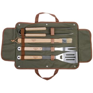 4 Piece Barbecue Tool Set