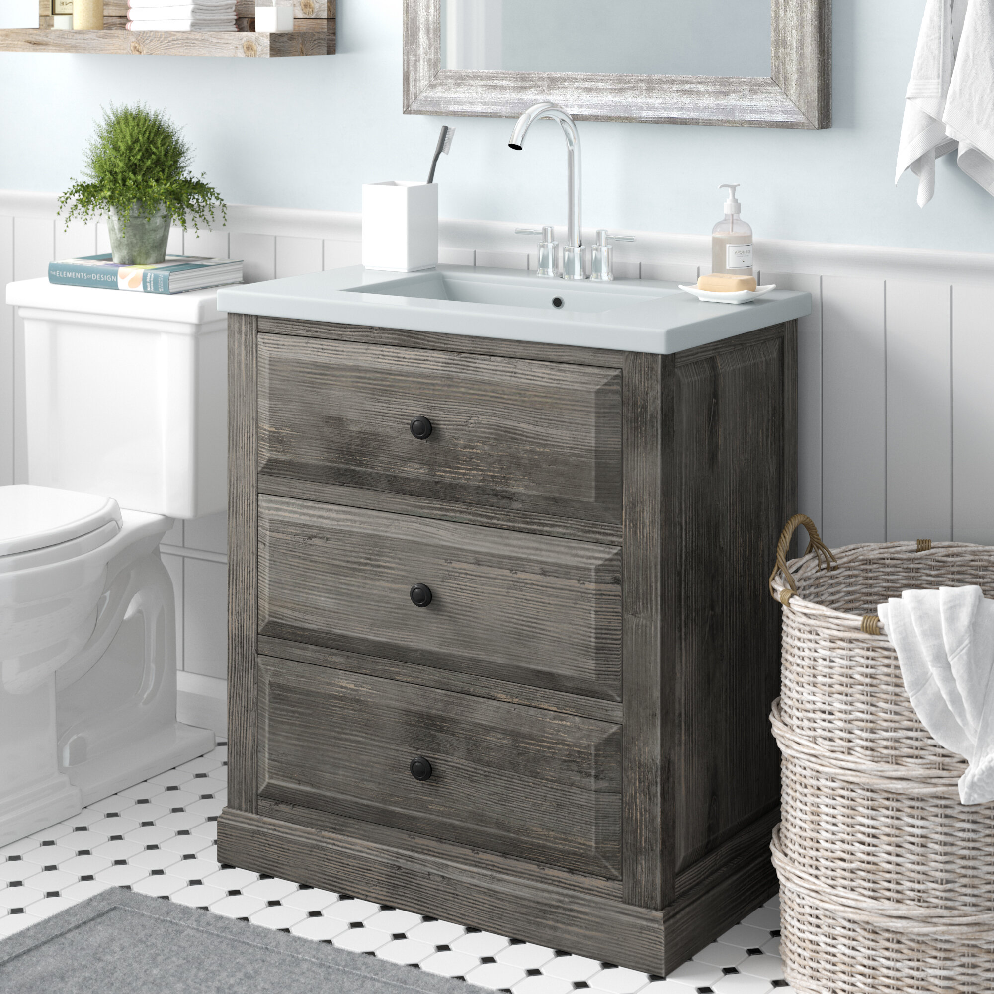 Terrific Bellevue 30 Single Sink Bathroom Vanity Set Download Free Architecture Designs Pushbritishbridgeorg