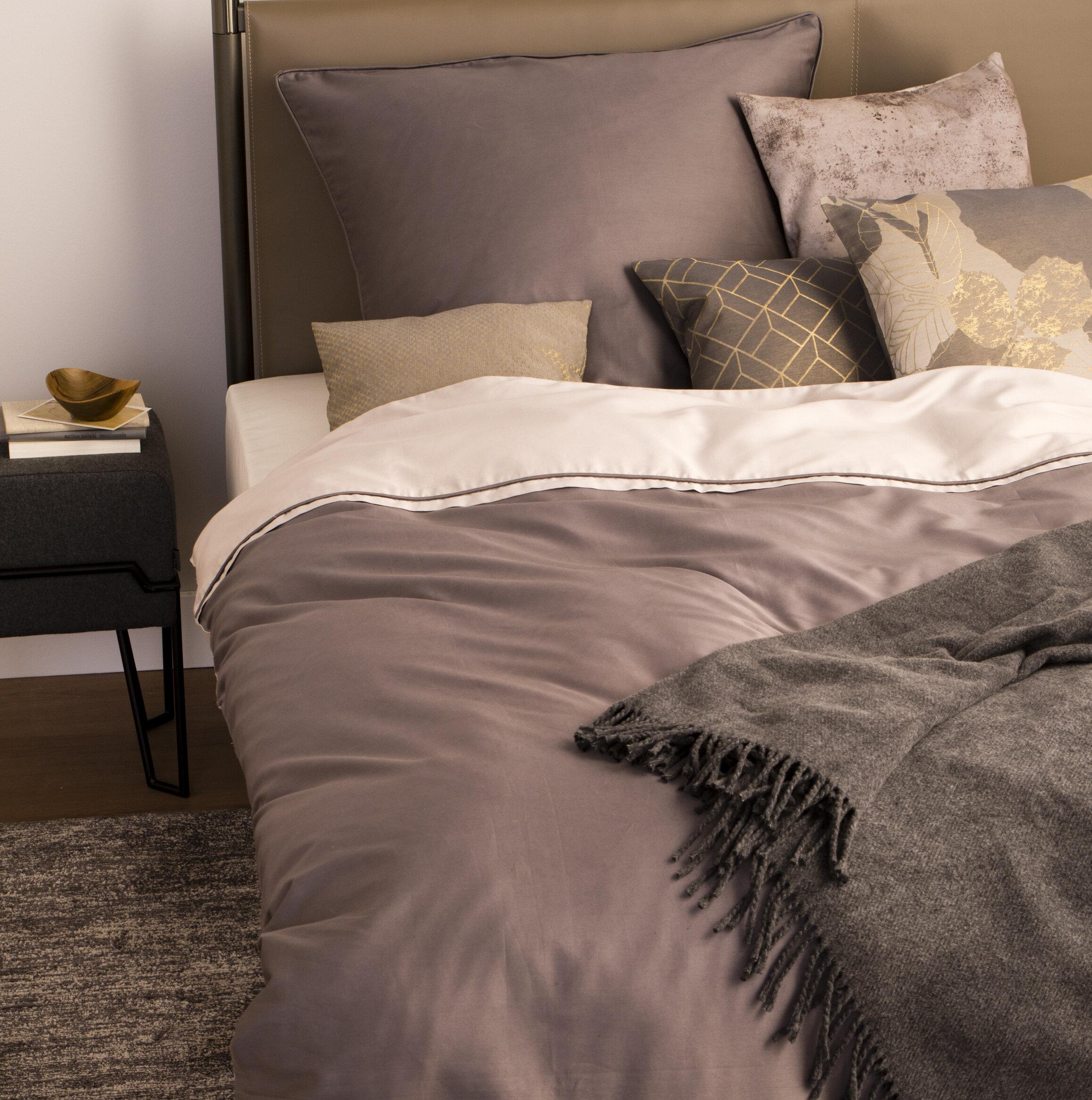 Schöner Wohnen Kollektion Mako Satin Bettwäsche Pure Wayfairde