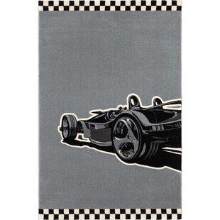 Formula Machine-Woven Grey Area Rug by Saint Clair Paris