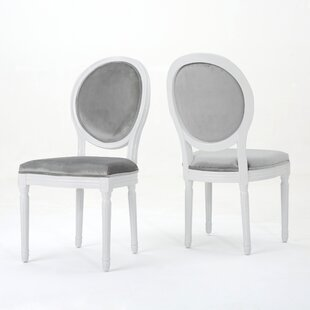 Jamar Velvet Upholstered Dining Chair (Set Of 2)