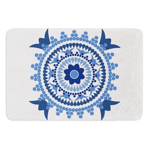 Bohemian Blues by Carolyn Greifeld Bath Mat