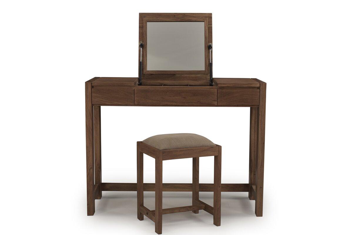 brick barrow schminktisch wichita mit spiegel. Black Bedroom Furniture Sets. Home Design Ideas