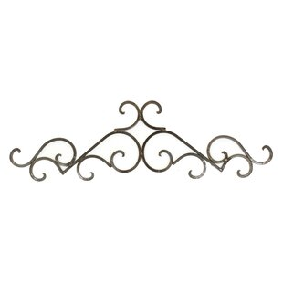 Taos Iron Door Topper Wall Decor