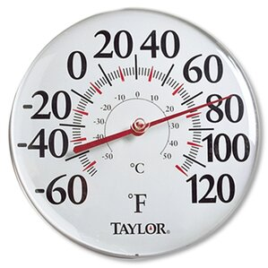 Taylor Outdoor Thermometers You\'ll Love | Wayfair