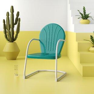 Blue Retro Chair | Wayfair