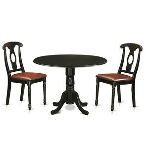 Gloucester 3 Piece Dining Set by Charl..