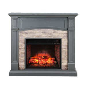 Dawn Infrared Electric Fireplace by Alcott H..