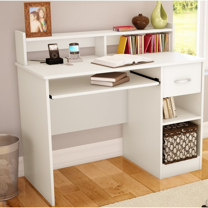 for desktop computer laminate desk bello flooring desks astonishing enchanting home and wayfair ideas tech brick office wall hardwood mug