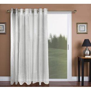 Sheer Patio Door Curtains   Wayfair