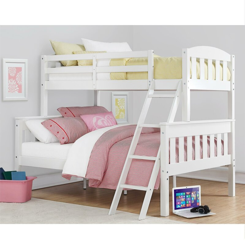 Viv Rae Suzanne Twin over Full Bunk Bed Reviews Wayfair