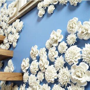 Ceramic Flower Wall Art Wayfair
