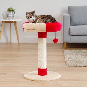 24″ Roman Plush Cat Tree