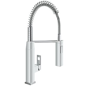 Eurocube Pull Out Single Handle Kitchen Faucet