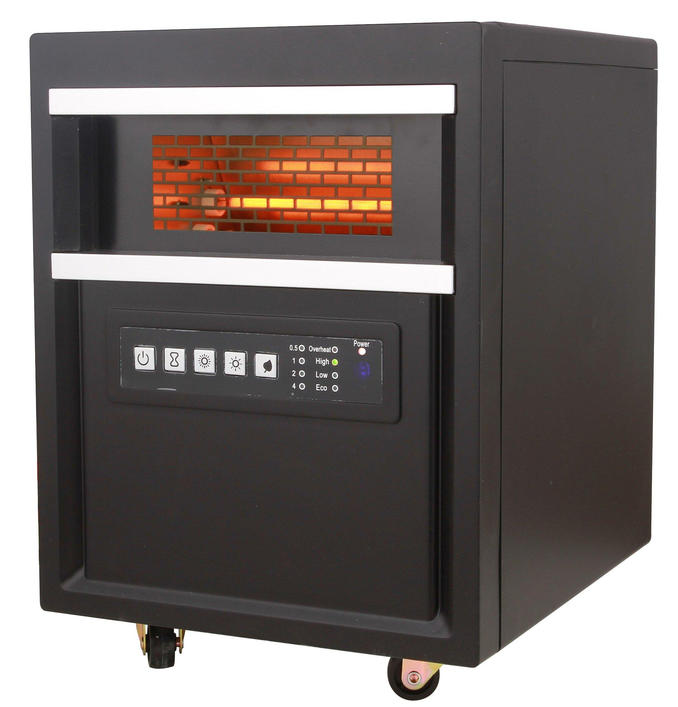 Gentil All Pro Comfort Glow Infrared 5100 BTU Electric Cabinet Heater | Wayfair