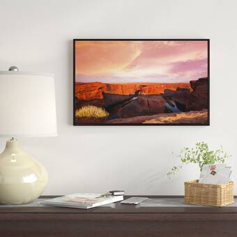 0.75 x 60 x 40-Inch iCanvasART 3-Piece Dream of Fire Canvas Print by Dan Ballard