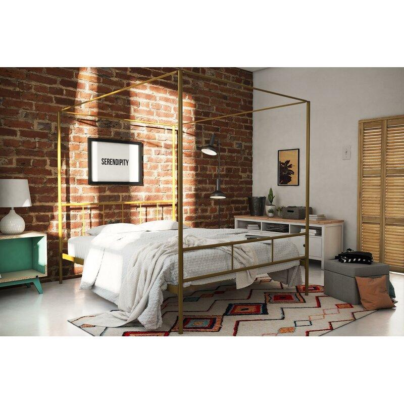 0adf8b46c1fb Wayfair | Novogratz Marion Canopy Bed